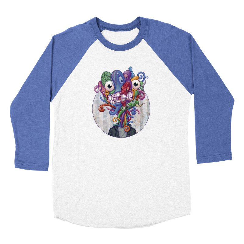 Smile, Smile, Smile Women's Baseball Triblend T-Shirt by Mike Bilz's Artist Shop