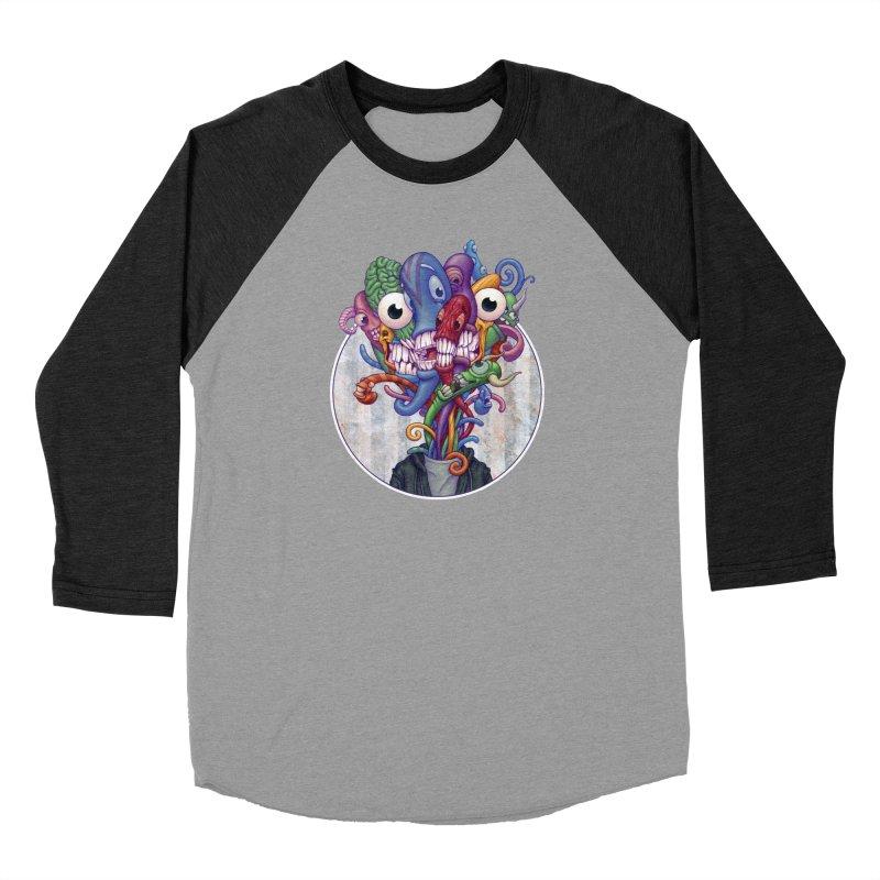 Smile, Smile, Smile Men's Baseball Triblend T-Shirt by Mike Bilz's Artist Shop