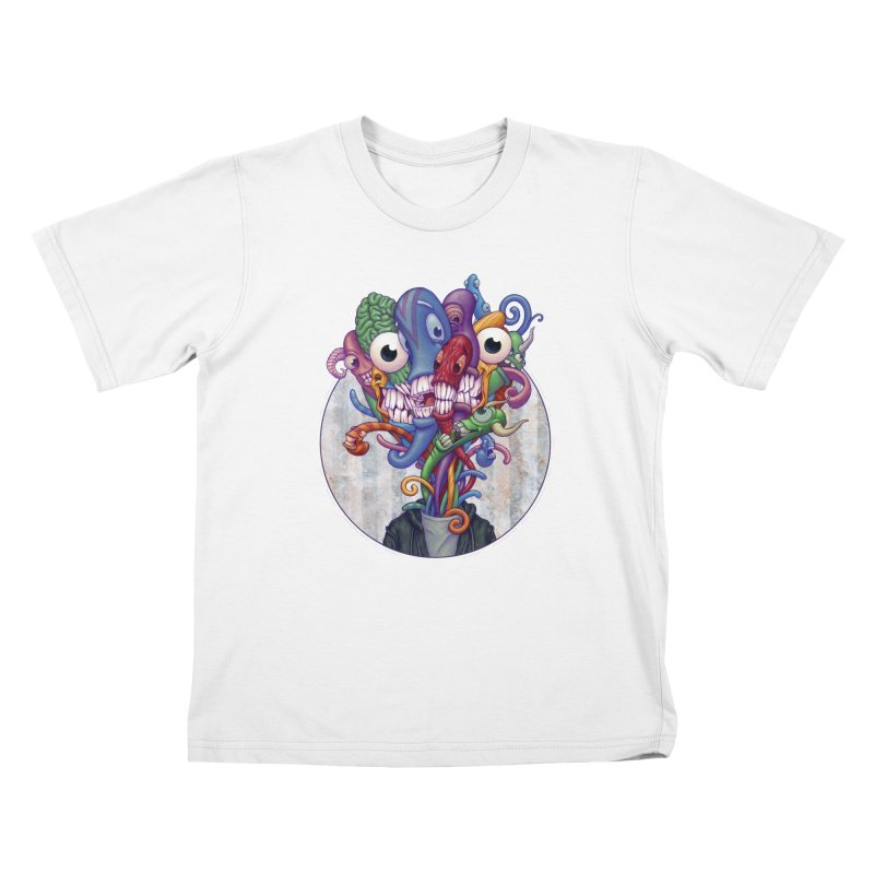 Smile, Smile, Smile Kids T-shirt by Mike Bilz's Artist Shop