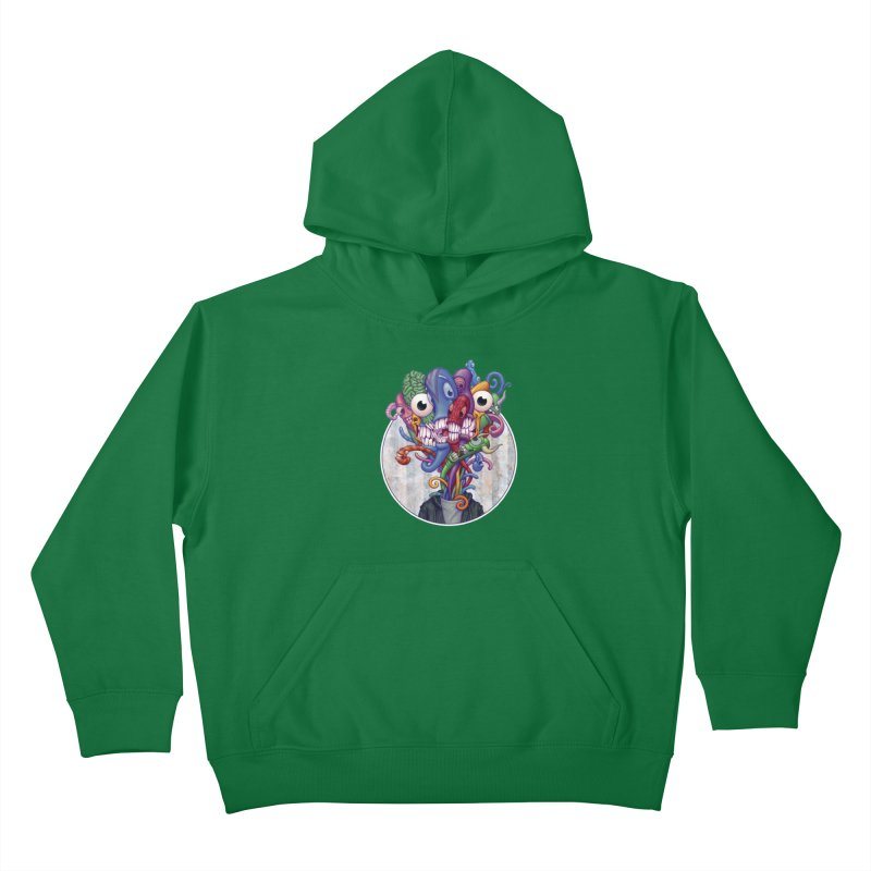 Smile, Smile, Smile Kids Pullover Hoody by Mike Bilz's Artist Shop