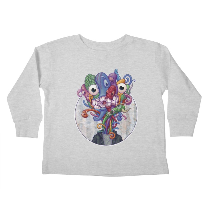 Smile, Smile, Smile Kids Toddler Longsleeve T-Shirt by Mike Bilz's Artist Shop