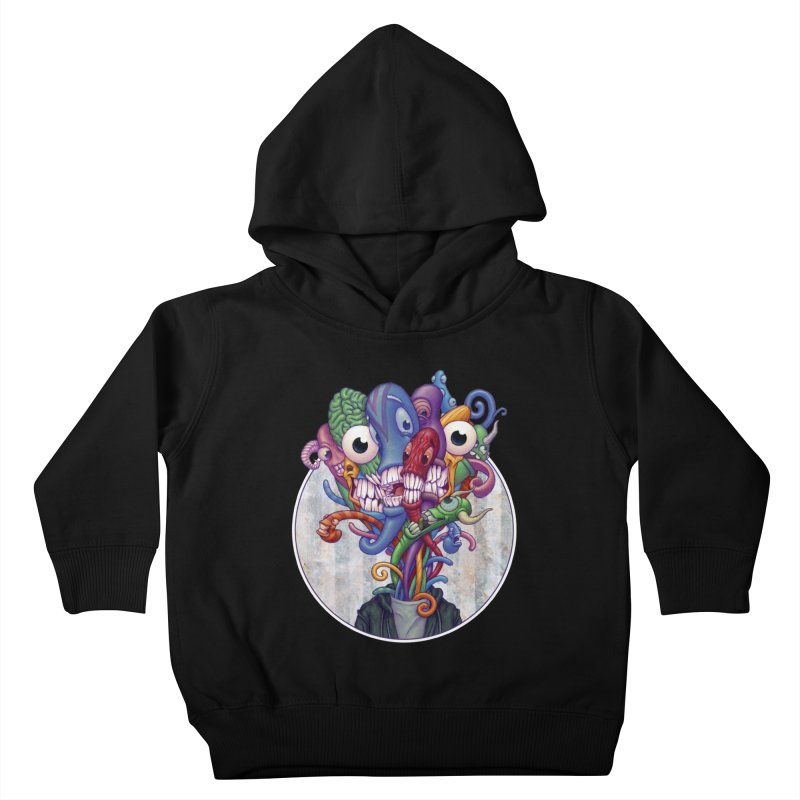 Smile, Smile, Smile Kids Toddler Pullover Hoody by Mike Bilz's Artist Shop