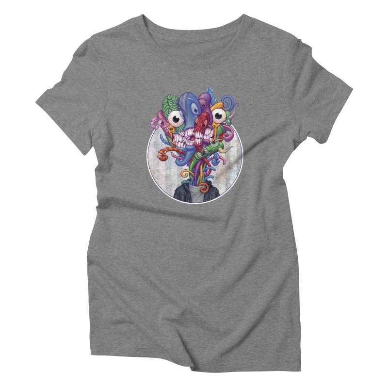 Smile, Smile, Smile Women's Triblend T-shirt by Mike Bilz's Artist Shop