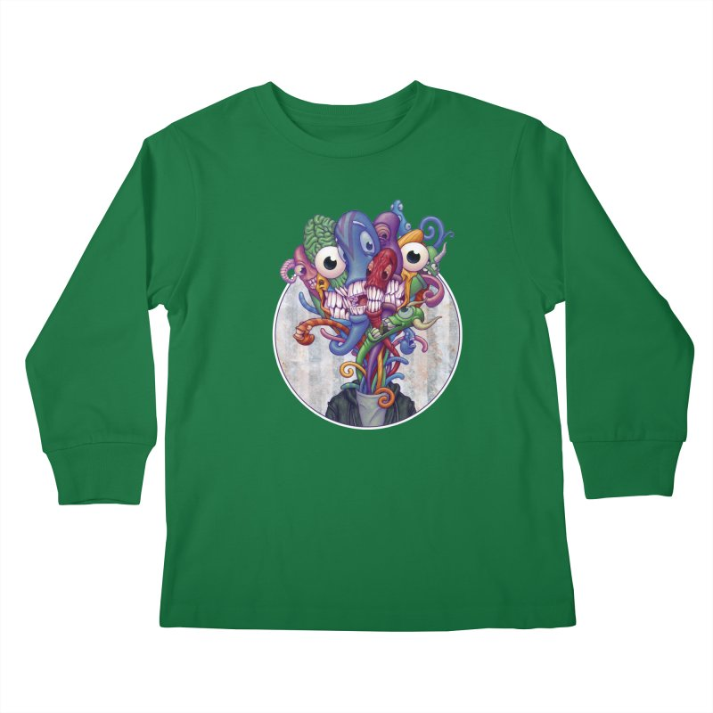 Smile, Smile, Smile Kids Longsleeve T-Shirt by Mike Bilz's Artist Shop