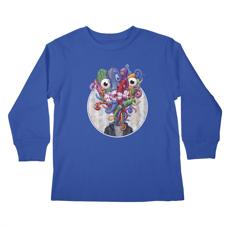 Smile, Smile, Smile Kids Longsleeve T-Shirt by Mike Bilz's Artist Shop