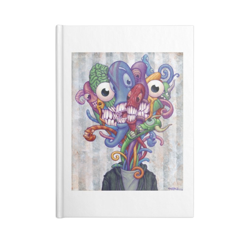 Smile, Smile, Smile (print) Accessories Notebook by Mike Bilz's Artist Shop