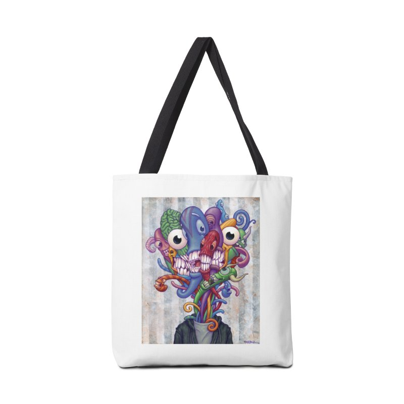 Smile, Smile, Smile (print) Accessories Bag by Mike Bilz's Artist Shop