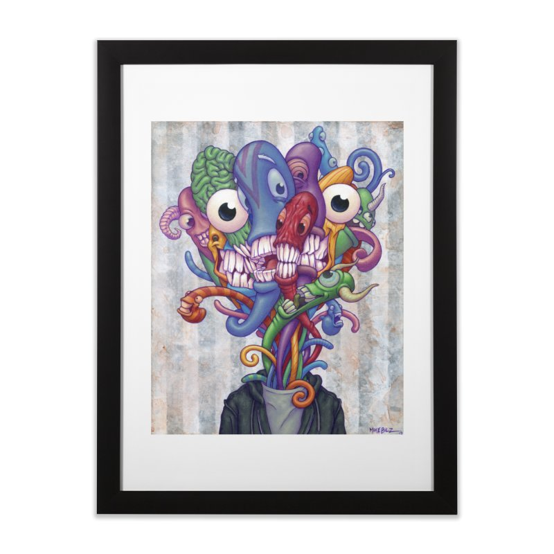 Smile, Smile, Smile (print) Home Framed Fine Art Print by Mike Bilz's Artist Shop