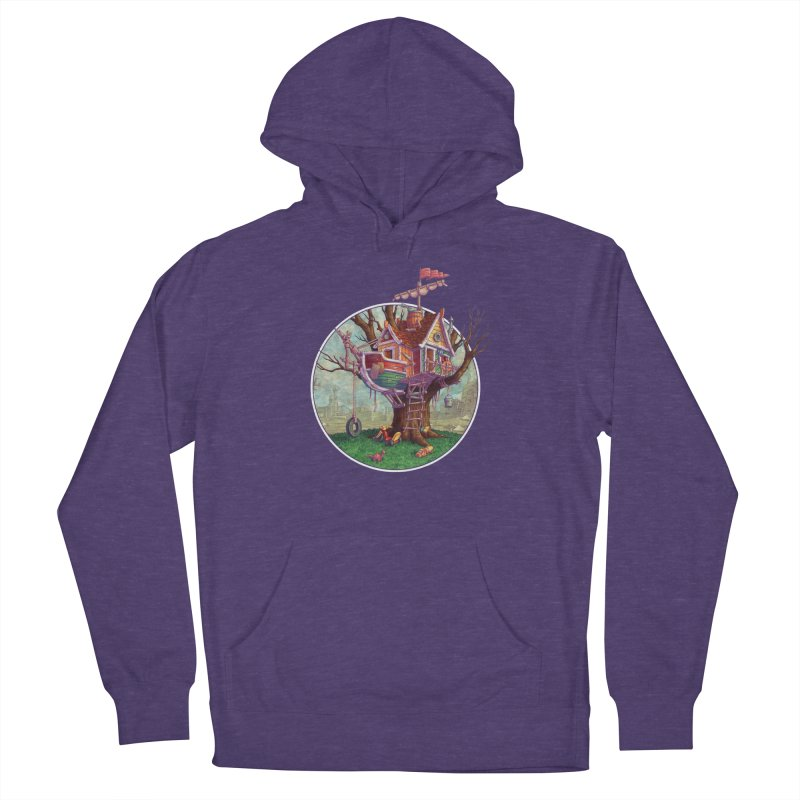 Last Outpost Women's Pullover Hoody by Mike Bilz's Artist Shop
