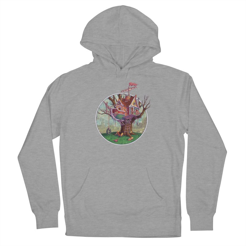 Last Outpost Women's French Terry Pullover Hoody by Mike Bilz's Artist Shop