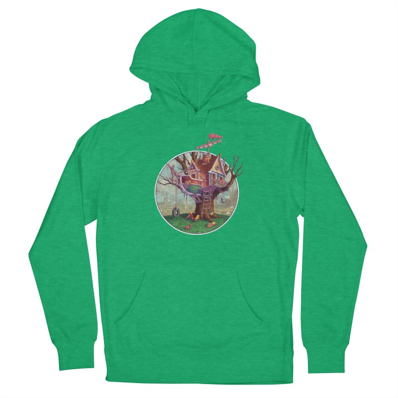 Last Outpost Men's French Terry Pullover Hoody by Mike Bilz's Artist Shop