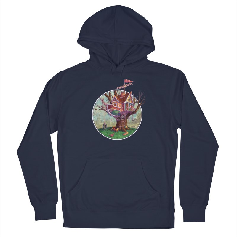 Last Outpost Men's Pullover Hoody by Mike Bilz's Artist Shop