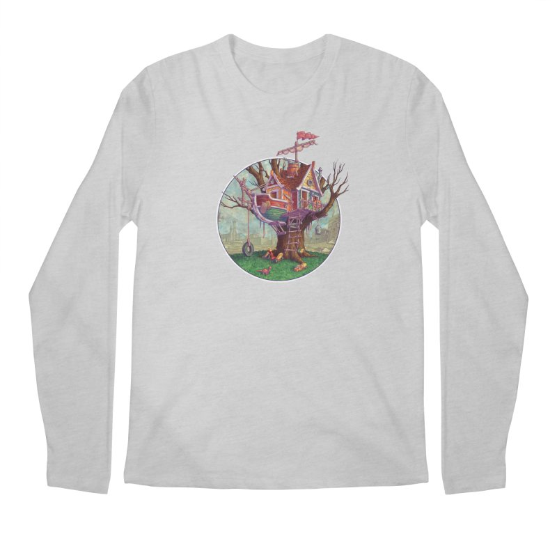 Last Outpost Men's Longsleeve T-Shirt by Mike Bilz's Artist Shop
