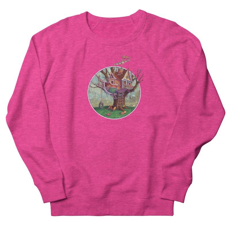 Last Outpost Women's French Terry Sweatshirt by Mike Bilz's Artist Shop