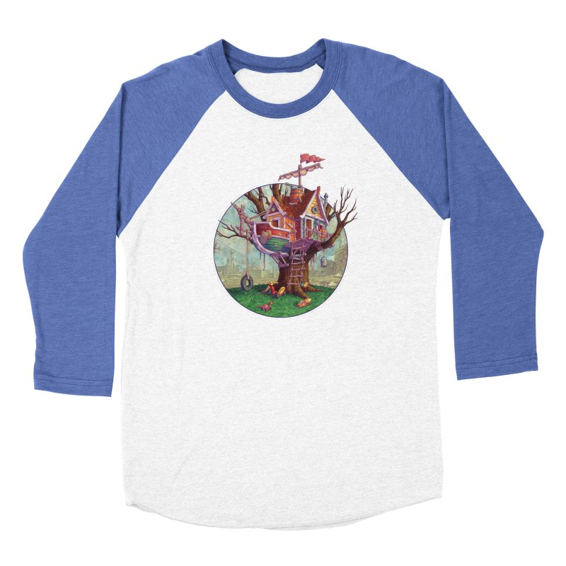 Last Outpost Women's Baseball Triblend T-Shirt by Mike Bilz's Artist Shop
