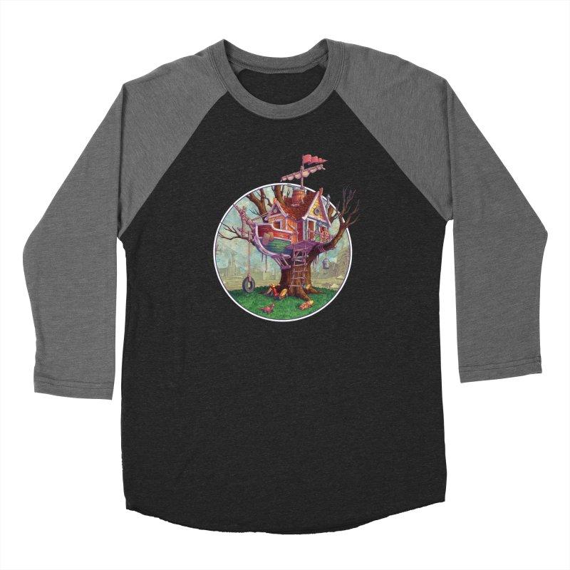 Last Outpost Women's Baseball Triblend Longsleeve T-Shirt by Mike Bilz's Artist Shop