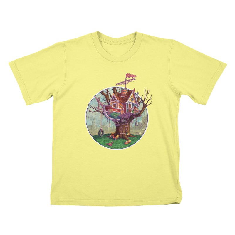 Last Outpost Kids T-shirt by Mike Bilz's Artist Shop