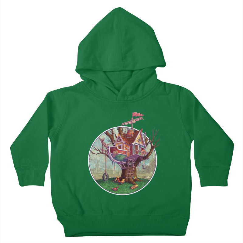 Last Outpost Kids Toddler Pullover Hoody by Mike Bilz's Artist Shop