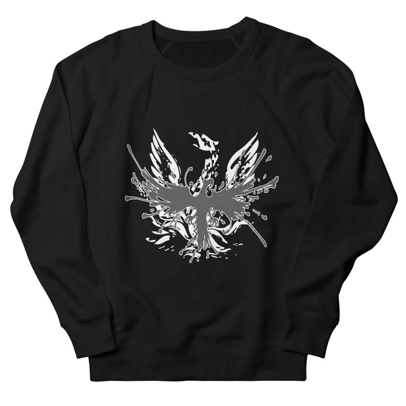 Phoenix-double renewed Men's French Terry Sweatshirt by mikeborgia's Artist Shop