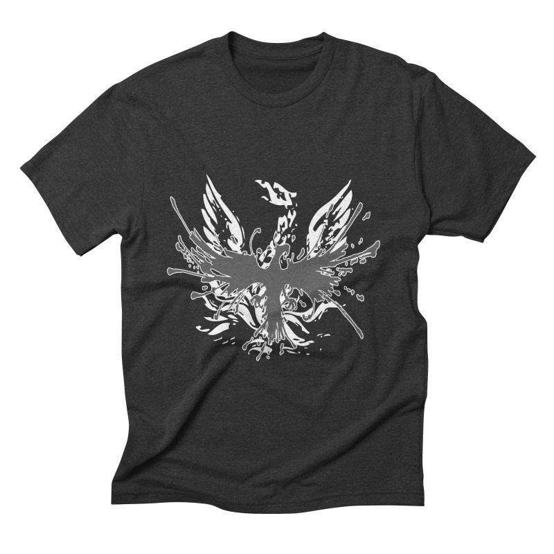 Phoenix-double renewed Men's Triblend T-Shirt by mikeborgia's Artist Shop