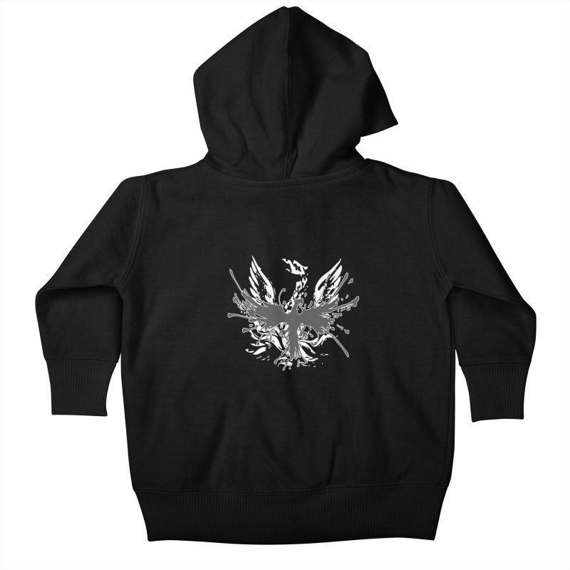 Phoenix-double renewed Kids Baby Zip-Up Hoody by mikeborgia's Artist Shop