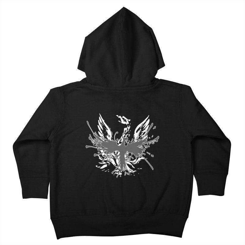 Phoenix-double renewed Kids Toddler Zip-Up Hoody by mikeborgia's Artist Shop