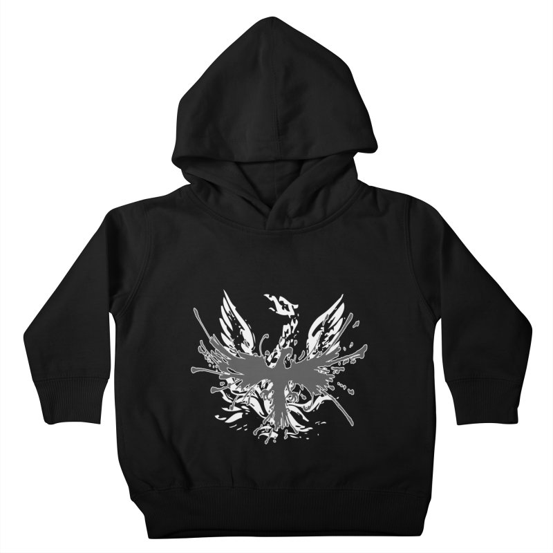 Phoenix-double renewed Kids Toddler Pullover Hoody by mikeborgia's Artist Shop