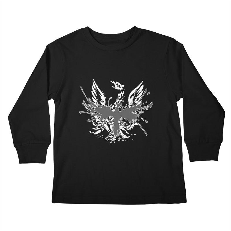 Phoenix-double renewed Kids Longsleeve T-Shirt by mikeborgia's Artist Shop