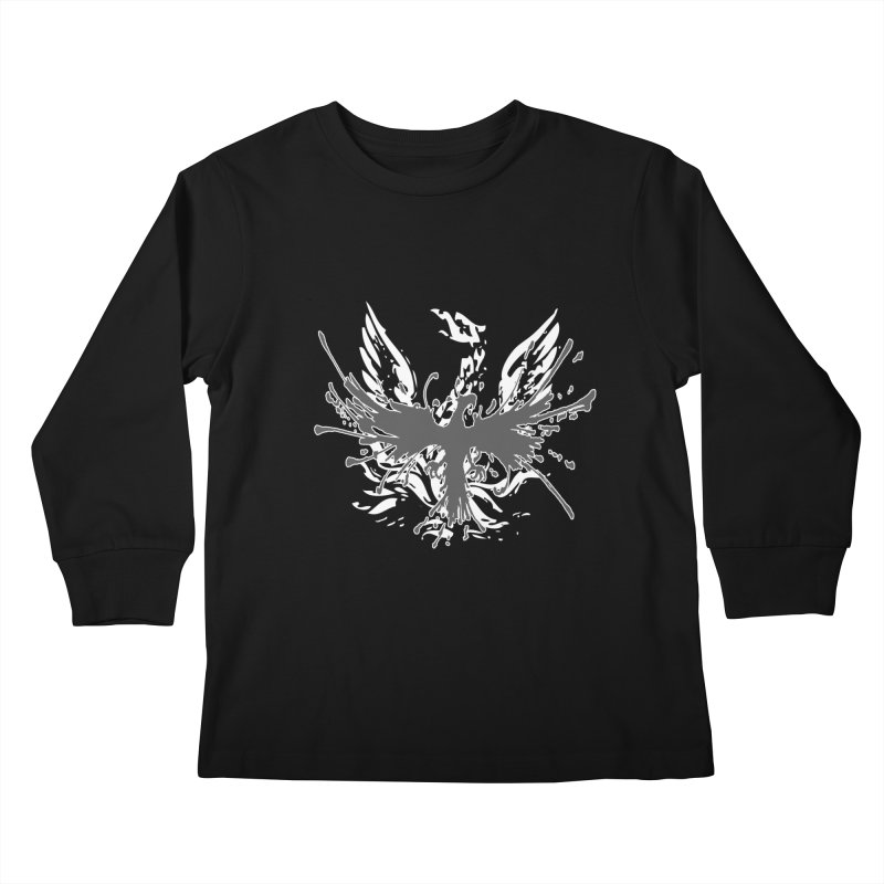 Phoenix-double renewed Kids Longsleeve T-Shirt by mikeborgia's Artist Shop