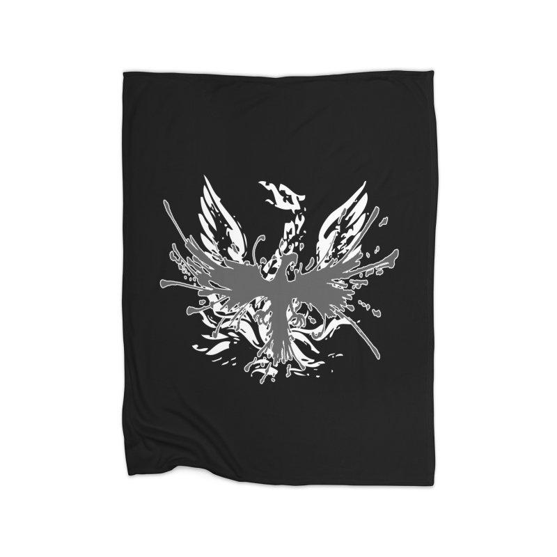 Phoenix-double renewed Home Fleece Blanket Blanket by mikeborgia's Artist Shop