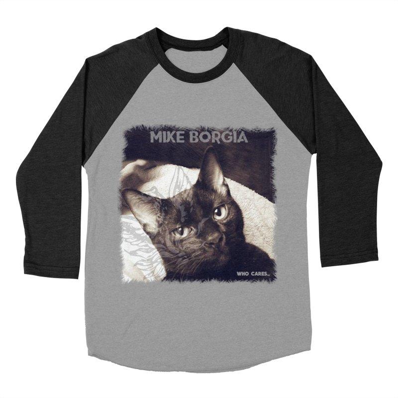 Who cares album art. Women's Baseball Triblend Longsleeve T-Shirt by mikeborgia's Artist Shop