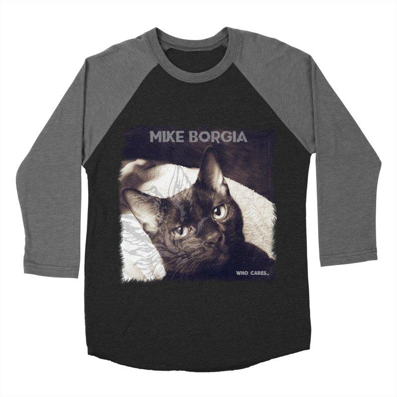 Who cares album art. Men's Baseball Triblend Longsleeve T-Shirt by mikeborgia's Artist Shop