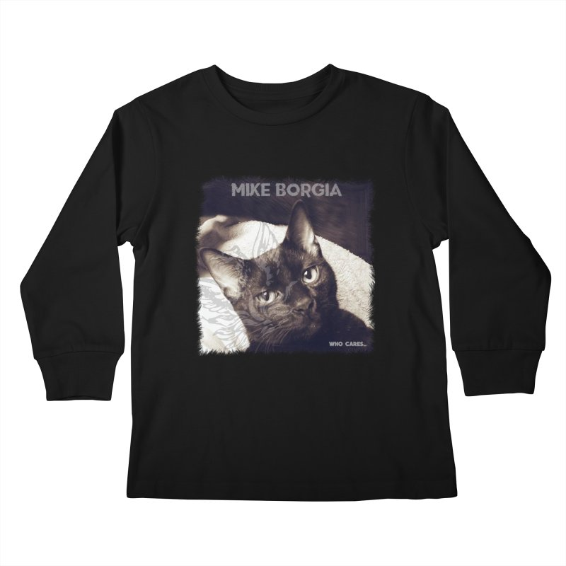 Who cares album art. Kids Longsleeve T-Shirt by mikeborgia's Artist Shop