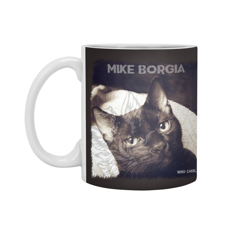 Who cares album art. Accessories Standard Mug by mikeborgia's Artist Shop