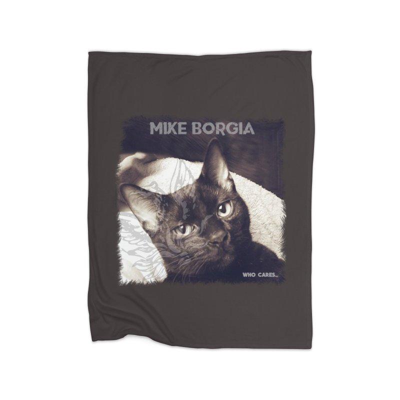 Who cares album art. Home Fleece Blanket Blanket by mikeborgia's Artist Shop