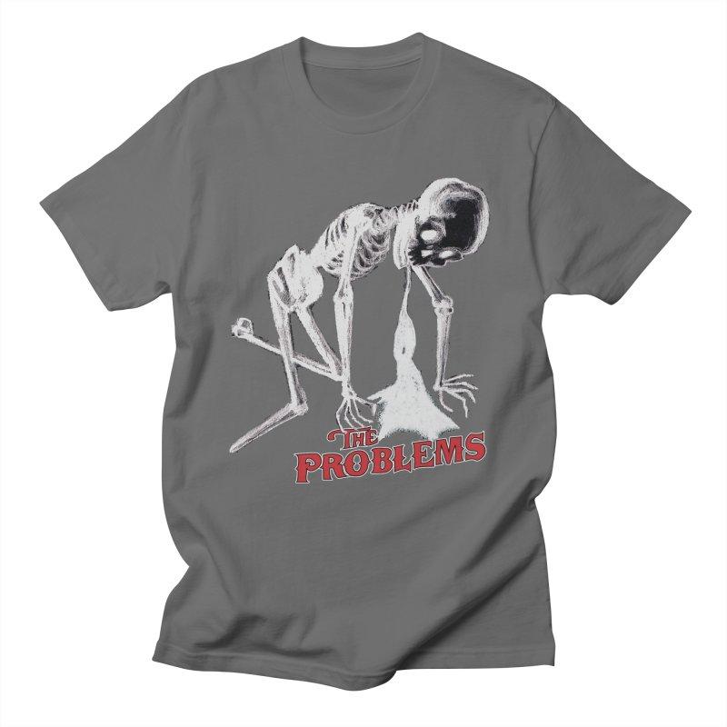 Puking Skeleton  Men's Regular T-Shirt by mikeborgia's Artist Shop