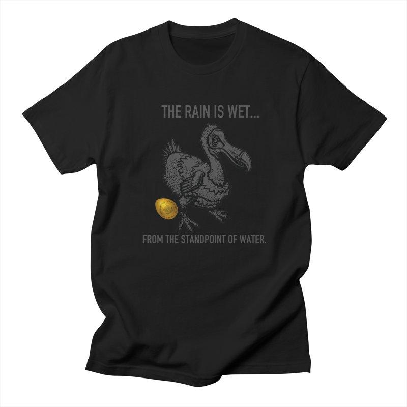 Wet Rain Tee Men's Regular T-Shirt by mikeborgia's Artist Shop