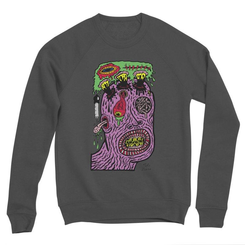 Purple Pain Person Women's Sponge Fleece Sweatshirt by Mike Diana T-Shirts Mugs and More!
