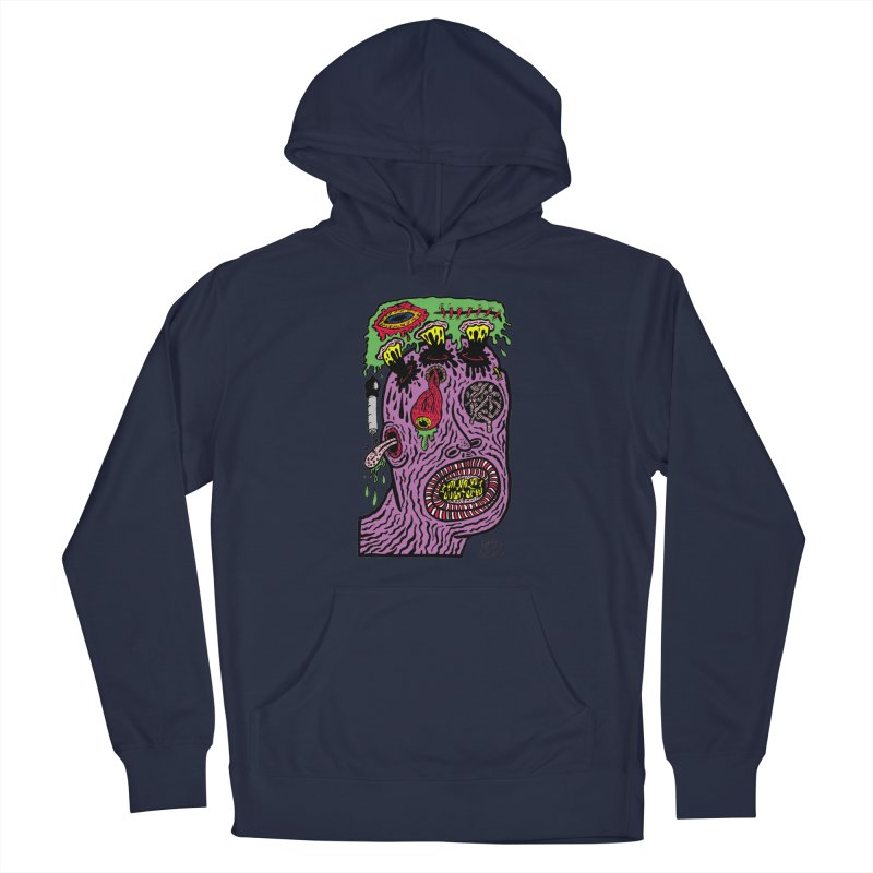 Purple Pain Person Men's Pullover Hoody by Mike Diana Threadless