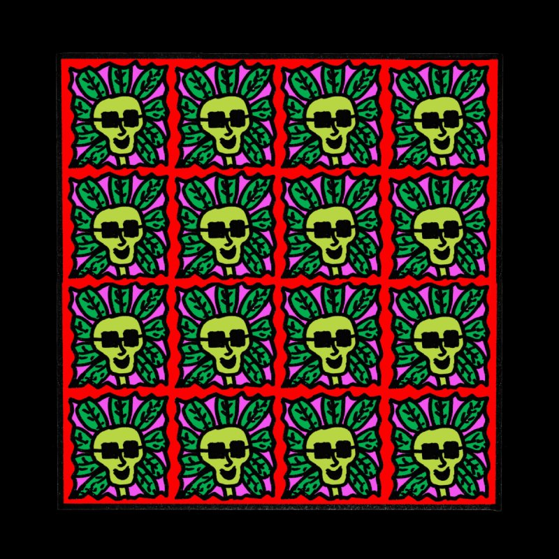 Weed Dude Blotter Head Accessories Sticker by Mike Diana T-Shirts Mugs and More!