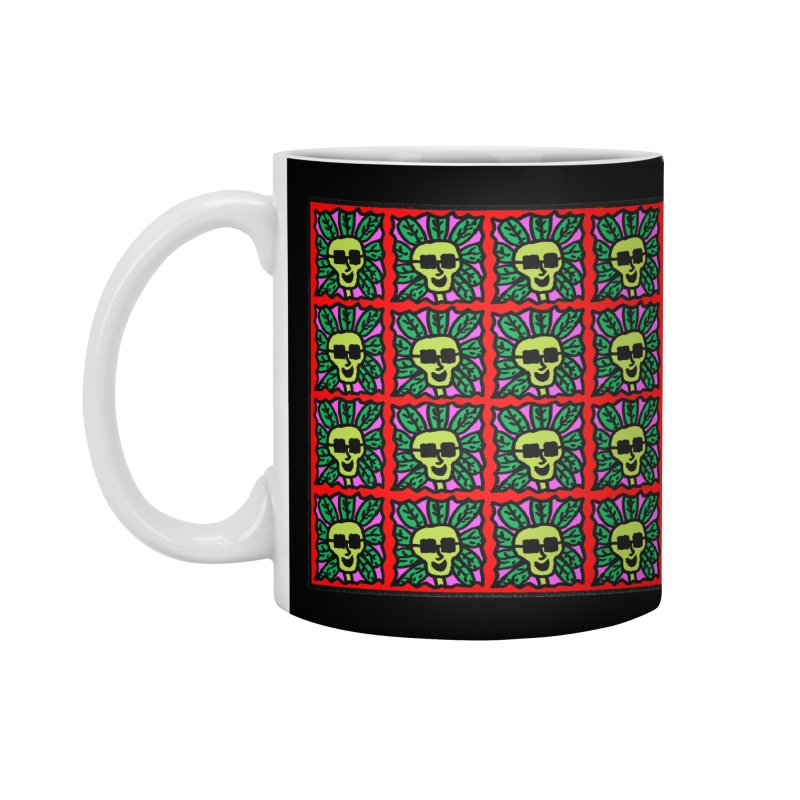 Weed Dude Blotter Head Accessories Standard Mug by Mike Diana T-Shirts Mugs and More!