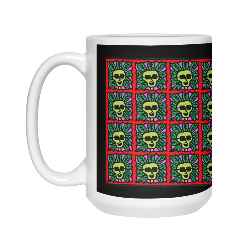 Weed Dude Blotter Head Accessories Mug by Mike Diana Threadless