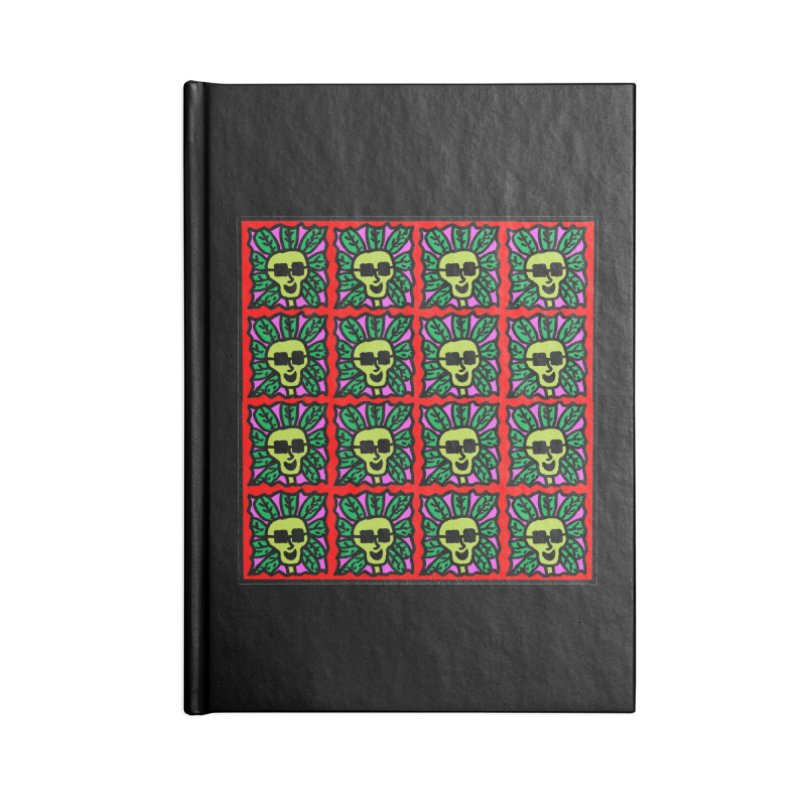 Weed Dude Blotter Head Accessories Lined Journal Notebook by Mike Diana T-Shirts Mugs and More!