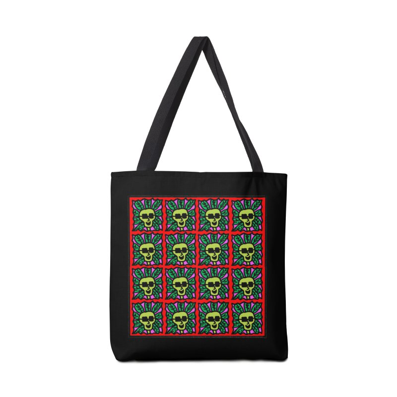 Weed Dude Blotter Head Accessories Tote Bag Bag by Mike Diana T-Shirts Mugs and More!