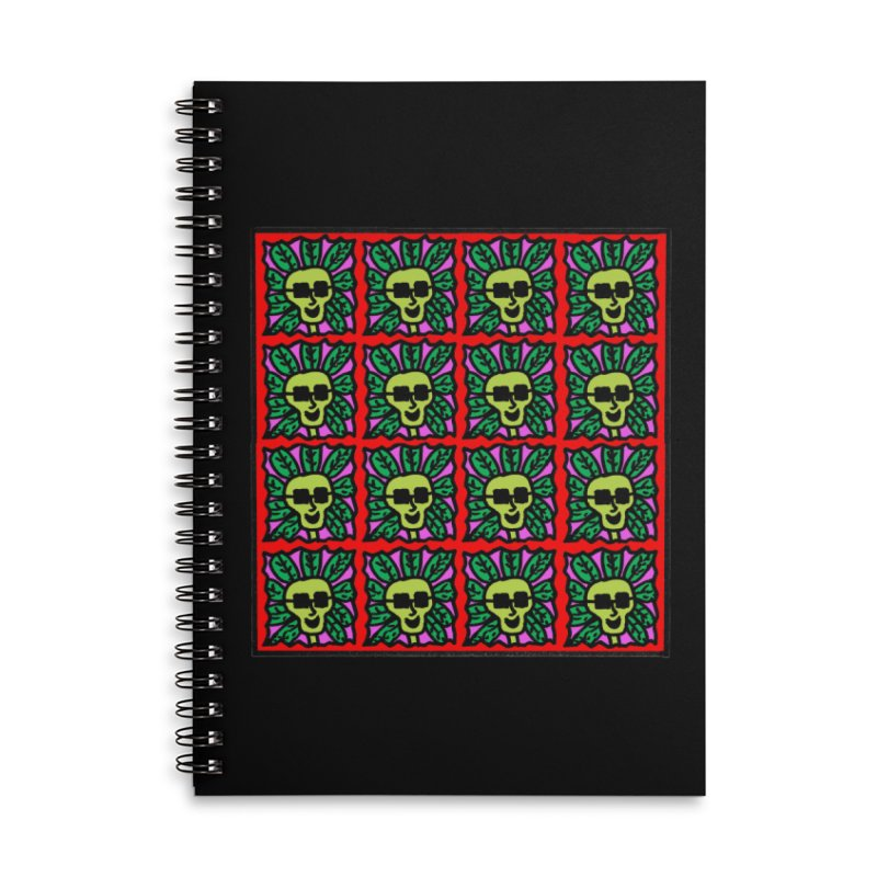 Weed Dude Blotter Head Accessories Lined Spiral Notebook by Mike Diana T-Shirts Mugs and More!