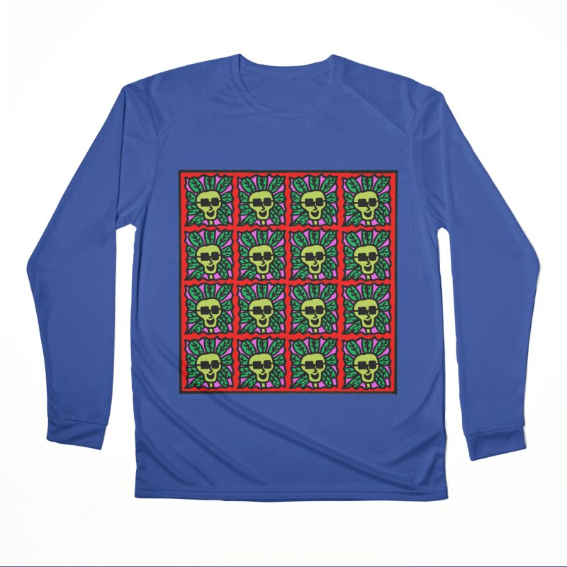 Weed Dude Blotter Head Men's Performance Longsleeve T-Shirt by Mike Diana T-Shirts Mugs and More!