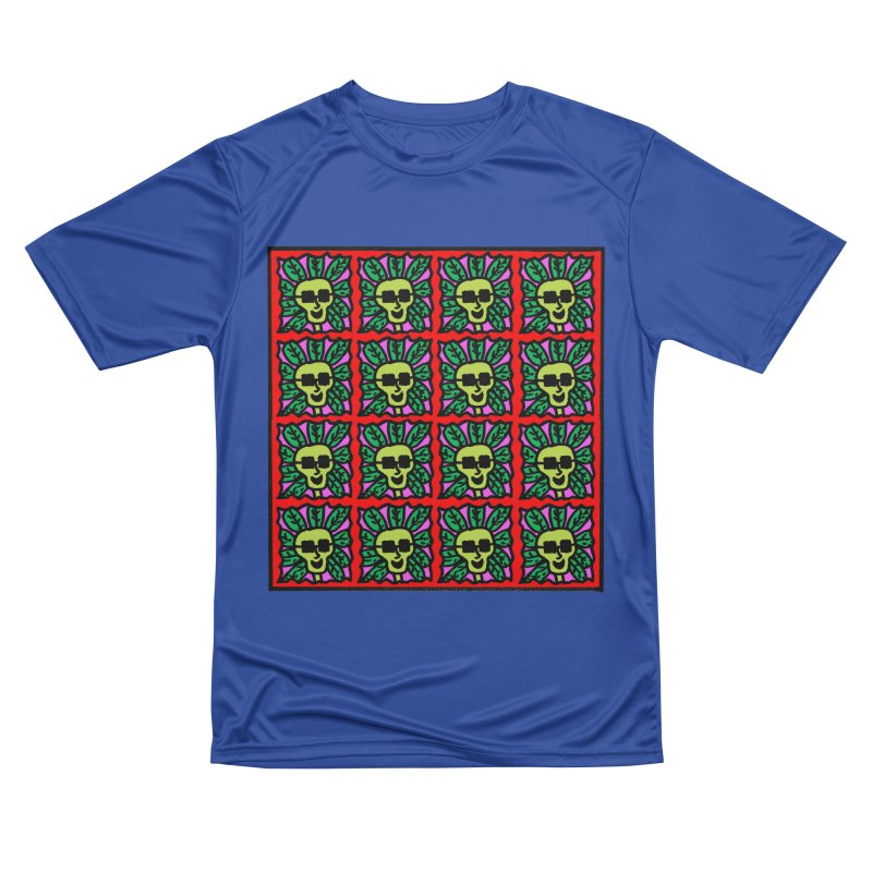 Weed Dude Blotter Head Men's Performance T-Shirt by Mike Diana T-Shirts Mugs and More!