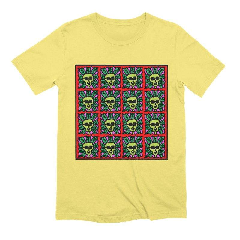 Weed Dude Blotter Head Men's Extra Soft T-Shirt by Mike Diana T-Shirts Mugs and More!