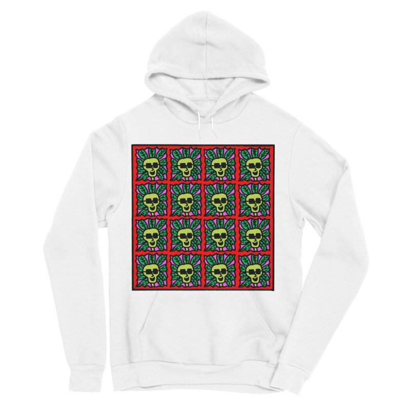 Weed Dude Blotter Head Men's Sponge Fleece Pullover Hoody by Mike Diana T-Shirts Mugs and More!