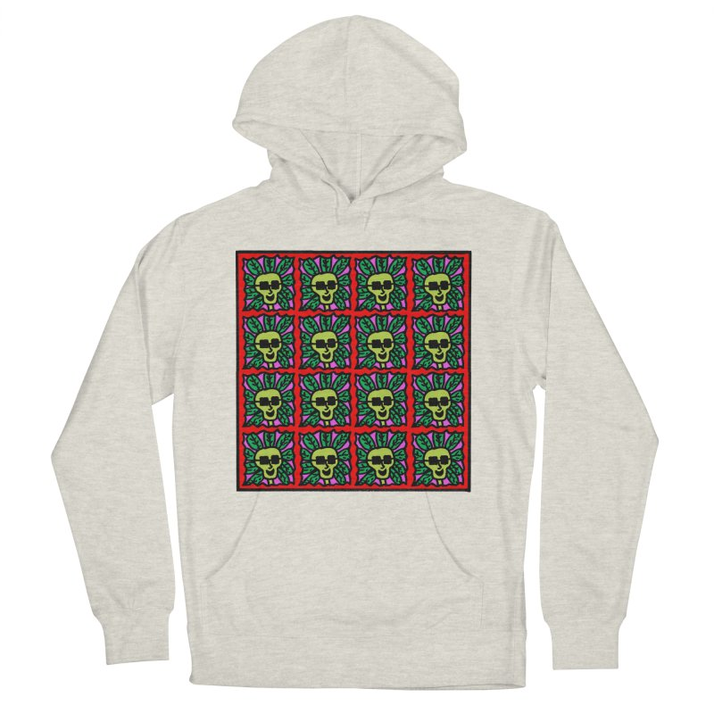 Weed Dude Blotter Head Women's French Terry Pullover Hoody by Mike Diana T-Shirts Mugs and More!